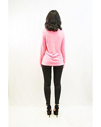 Pantalones de deporte para mujer máscara de tuerca con impresión de colibríes y en la parte superior y/T-Shirt 2014 Collection 6 colores estándar del Reino Unido 8-12 Rosa