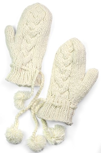 TCG Women's Cable Hand Knit...