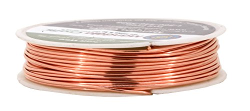 Mandala crafts 18 20 22 24 26 28 gauge thick solid copper for 24 gauge craft wire