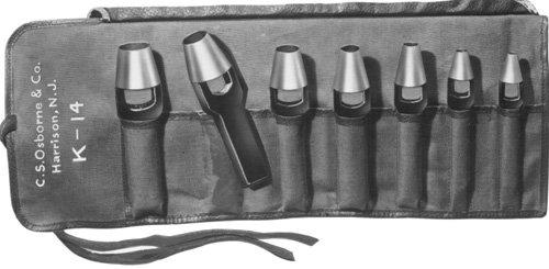 Punch Sets - 7 piece punch set 1/4