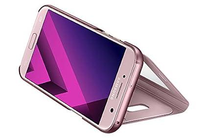 Versi/ón espa/ñola Funda para Galaxy A5 2017 Color Rosa Samsung EF-CA520PPEGWW