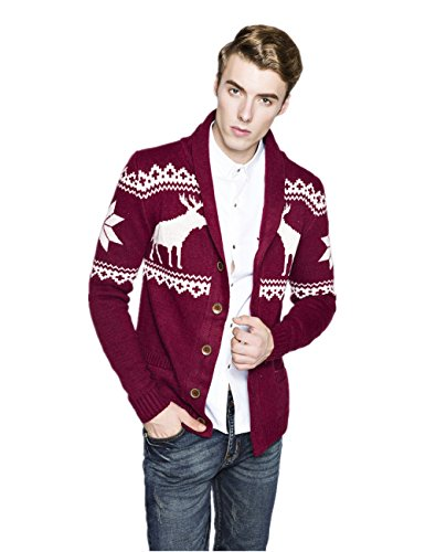 Wellbuy Men's Reindeer and
