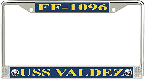Division License Plate Frame - 6