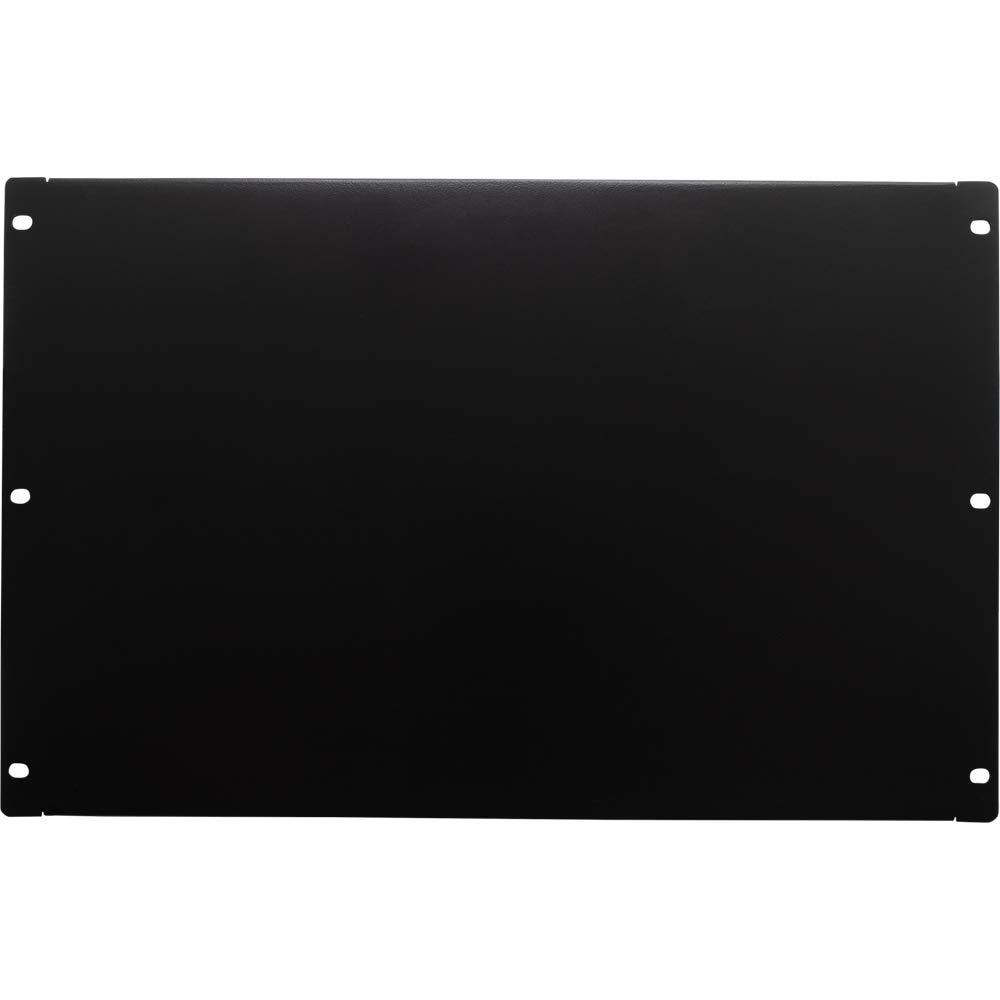 NavePoint 7U Blank Rack Mount Panel Spacer For 19-Inch Server Network Rack Enclosure Or Cabinet Black