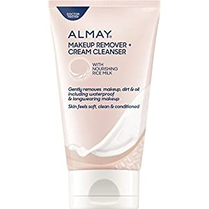 Almay Makeup Remover, Cream Cleanser, 4.5 fl oz (Pack of 2)