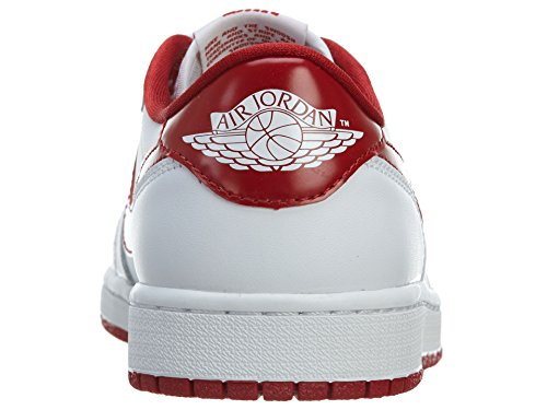 1 Red 101 Homme Jordan Nike white Sport De Og Air White Varsity Chaussures Low Retro wCUEq4