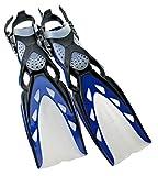 Mares X-Stream Open Heel Fins, All Black, Small