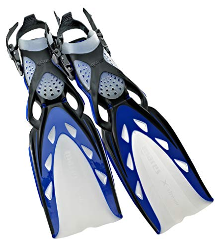 Mares X-Stream Open Heel Fins, Blue, Small