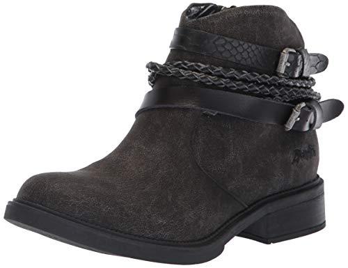 (Blowfish Women's Vianna Fashion Boot, Black Spindal Polyurethane, 8 Medium)