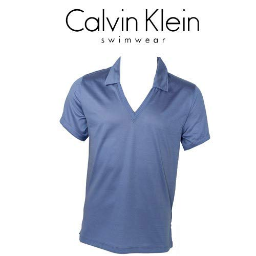 Calvin Klein CK Swimwear - Camiseta Cuello Polo (V Violet 58233z3 ...