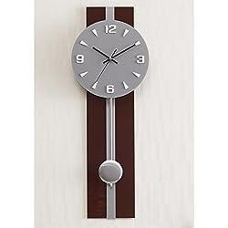 MCC Bell Wall Clock Living Room Modern Simple Mute Process Personality Creative Art Pendulum Clock , c