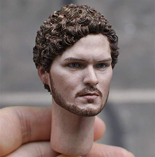 HT HP025 HiPlay 1//6 Scale Male Figure Head Sculpt Doll Head for 12 Action Figure Phicen Handsome Men Tough Guy TBLeague