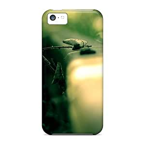 Fashion Tpu Case For Iphone 5c- Amazing Roads Wallp Defender Case Cover