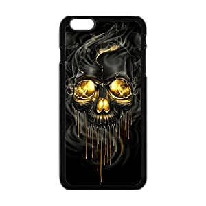 Shiny melting skull Cell Phone Case for iPhone plus 6