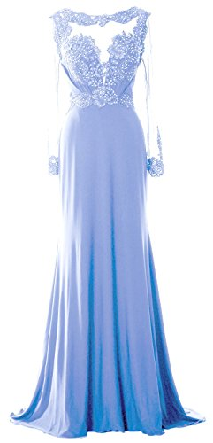 of Himmelblau Evening Long Women Gown Sleeve Lace Mother Dress Beaded Brides Formal MACloth 7pOwYCnaqY