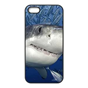 ALICASE Diy Customized Hard Case Shark for iPhone 5,5S [Pattern-1]