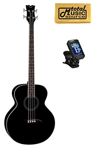 Mandolin Dean - Dean 4 String Acoustic Electric Bass Classic Black FREE TUNER, CLOTH