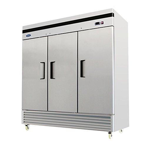 Atosa MBF8508 Bottom Mount (3)Three Door Refrigerator - Door Bottom Mount Refrigerator