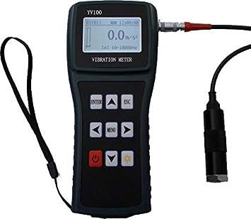 YXMSCMULTITEC YV100 medidor Digital portátil de vibración: Amazon.es: Coche y moto