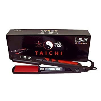 Straightening Flat Iron Taichi – Black with Red