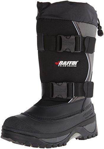 Baffin Men's Wolf Snow Boot,Black/Pewter,10 M US