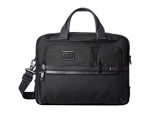 (TUMI - Alpha 3 Expandable Organizer Laptop Brief Briefcase - 15 Inch Computer Bag for Men and Women -)