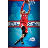 (22x34) Blake Griffin - Los Angeles Clippers Basketball Poster