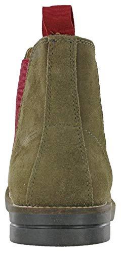 Khaki Burgundy Catesby 13462 Uomo Stivali wftf60qW