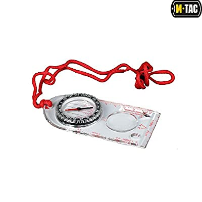M-Tac Compass Magnetic Heading for Maps Orienteering Navigation Hiking Backpacking Hunting