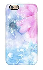 Case Cover Protector For iphone 4 4s Flower Water Case