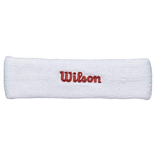 (Wilson Tennis Headband (White))