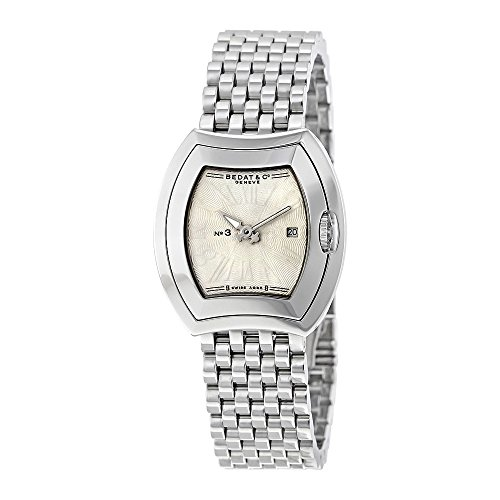 Bedat No (Bedat No 3 Silver Dial Stainless Steel Ladies Watch 334.011.100)