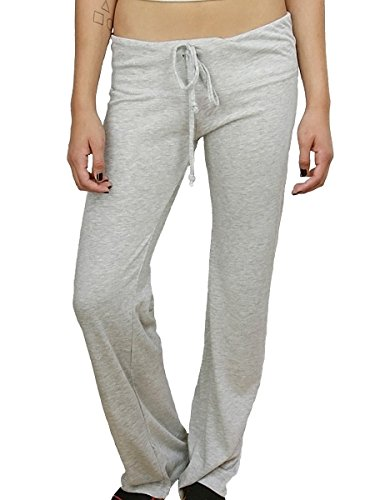 Women's Eco-Heather Long Pant with Black Heart aa1987