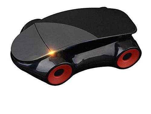 Car Shaped 360 Degree Rotating Smart Phone Car Mount (Black)