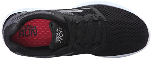 Performance Run Black 400 Skechers Shoe Go White Women's Running H4dWO