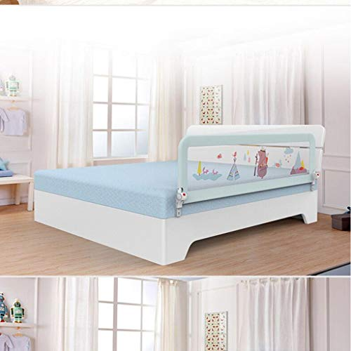 SONGTING Guardrail Kids Safety Bed Rail Baby Child Toddler Bed Rail Safety Protection Guard Cot Bumper Sets Bedding Wrap Around Safety Protection Head Guard by SONGTING Guardrail (Image #2)
