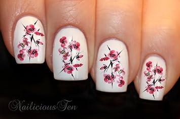 Amazon Nailicious Ten Sakura Japanese Cherry Blossom Nail Art