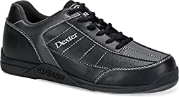 Dexter Youth Ricky III Junior Bowling Shoes, Size 1, Black/Alloy