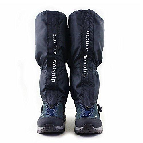 NATURE WORSHIP Gaiters Waterproof For Men and Women Snow Hiking Skiing Running Hunting Leg Covers by NATURE WORSHIP (Image #1)
