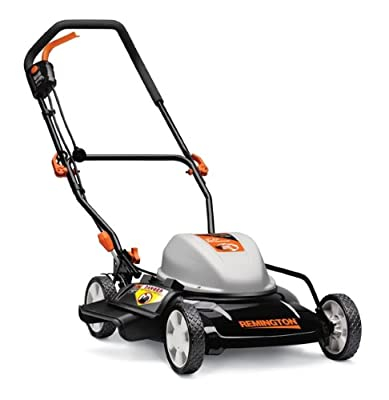 Remington RM202A 12-Amp 19-Inch 2-in-1 Corded Electric Push Lawn Mower