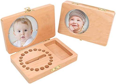 AUEDC Diente de los Dientes del Recuerdo de la Caja para el bebé ...