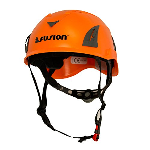 Fusion Climb Meka II Climbing Bungee Zipline Mountain Construction Safety Protection Helmet
