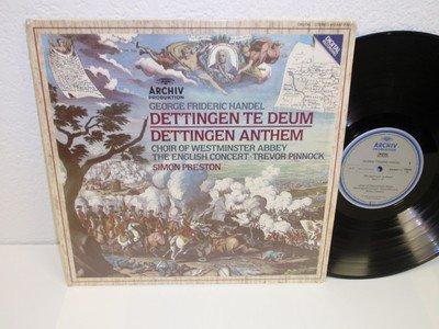 Handel: Dettingen Te Deum / Dettingen Anthem, Simon Preston