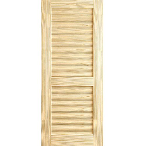 Louver Louver Door, Kimberly Bay Interior Slab Clear 80 in. x 32 in.