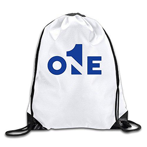 FOODE One Drawstring Backpack Sack Bag
