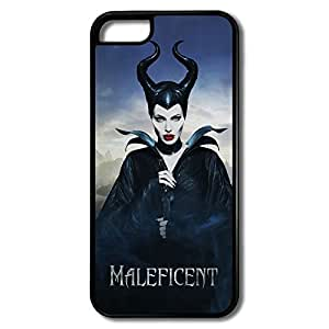 Fashion Maleficent IPhone 5c Hard Plastic Cases Scratch Resistant