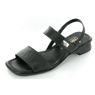 RIEKER VICTORIA 6227000 Womens Sandal, Black 8 UK: Amazon.co
