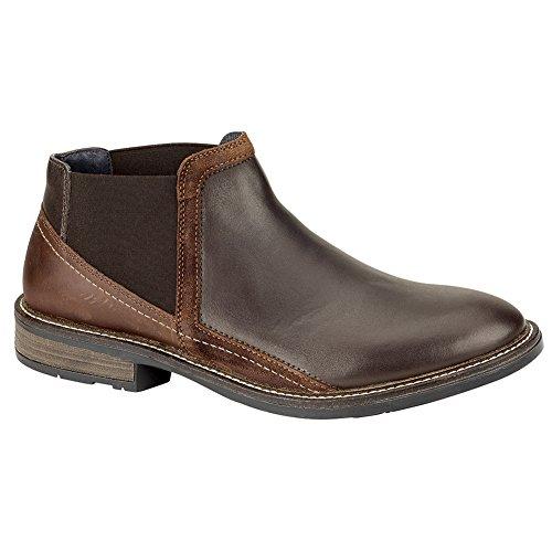 Naot Business Executive Men Flats Shoes, Roast/Saddle/Sea...