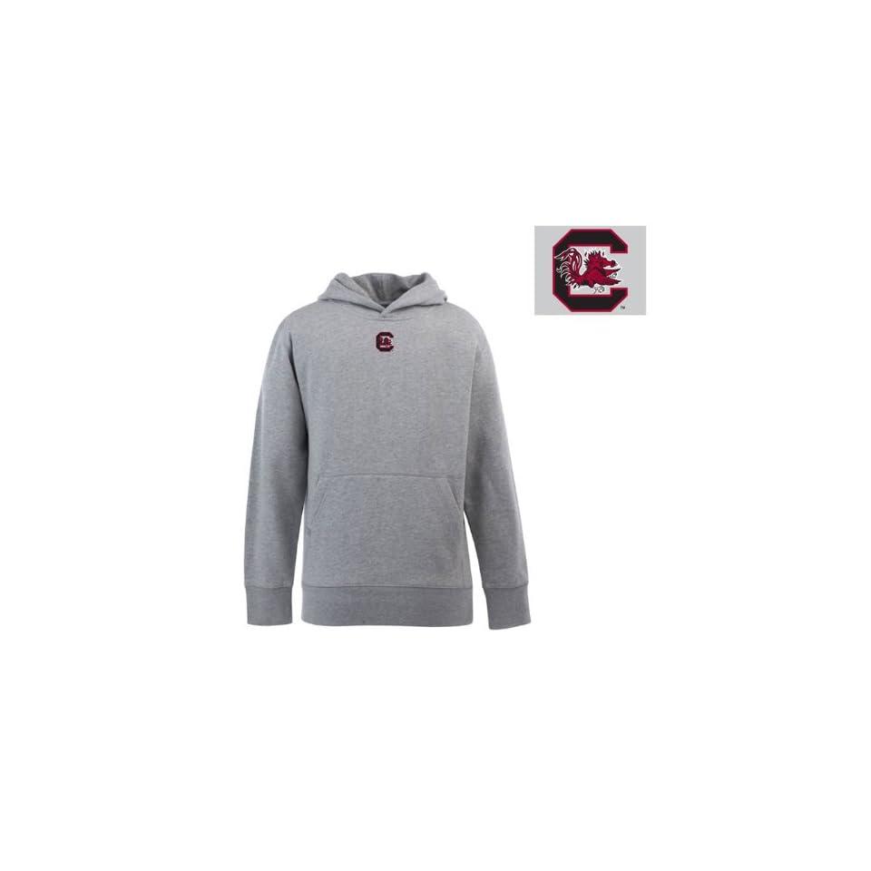 South Carolina Gamecocks Hoodie Sweatshirt   NCAA Antigua Youth Signature Hood Heather