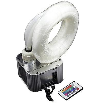 corpereal One Set DIY Wireless Led Fiber Optic Light Kit For Ceiling Star Lighting Decors